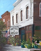 Theatre Painting Originals - That Place In Apalach by Susan Richardson