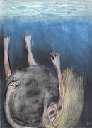 Depressed Pastels Prints - That Sinking Feeling Print by Leandria Goodman