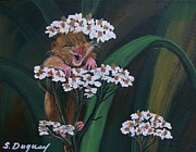 Nature Medicine Paintings - That Tickles by Sharon Duguay