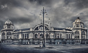 Cupula Prints - The 12 oclock in the old railway station Print by Carlos Ramirez de Arellano del Rey