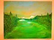 Mt. Bachelor Paintings - The 18th by Dave Riney