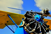 Stearman Posters - The 1940 Stearman PT-18 Kadet Poster by David Patterson