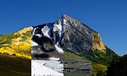 Mike Schmidt  Posters - The 4 Seasons in Mt. Crested Butte Poster by Mike Schmidt