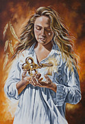 Christ Painting Originals - The 7 Spirits series - The Spirit of Understanding by Ilse Kleyn