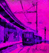 Vincent Dinovici Art - The 7AM Train TNM by Vincent DiNovici