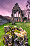 North Wales Digital Art Metal Prints - The Abbey  Metal Print by Adrian Evans