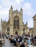 Chairs Digital Art Prints - The Abby at Bath Print by Mike McGlothlen
