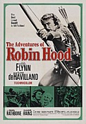 Errol Framed Prints - The Adventures of Robin Hood B Framed Print by Movie Poster Prints