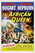 Humphrey Bogart Framed Prints - The African Queen  Framed Print by Movie Poster Prints