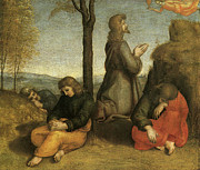 Agony Paintings - The Agony in the Garden by Raphael