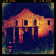 Instagram Posters - The Alamo Poster by Jill Battaglia