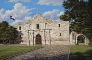 The Alamo Framed Prints - The Alamo Framed Print by Kyle Wood