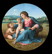 Famous Artists - The Alba Madonna by Raphael
