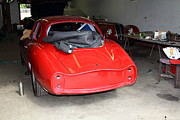 The Alfa Romeo Garage 5d25290 Print by Wingsdomain Art and Photography