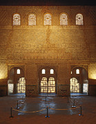 Alhambra Posters - The Alhambra King room Poster by Guido Montanes Castillo