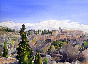 Margaret Merry - The Alhambra Palace from...
