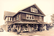 The Allenwood General Store Print by Olivier Le Queinec
