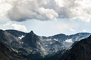Beautiful Prints - The alpine tundra of Rockies under rain clouds Print by Ellie Teramoto