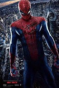 Movie Poster Gallery Prints - The Amazing Spider-Man  Print by Movie Poster Prints