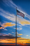 National Flag Posters - The American Beauty Poster by Robert Bales