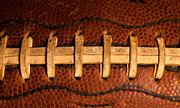 Footballs Closeup Photos - The American Football by David Patterson