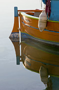 Fishing Boat Reflection Prints - The Andre Pascal Print by Sophie De Roumanie