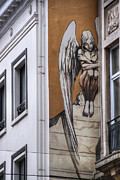 Mural Photos - The Angel by Juli Scalzi