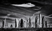 Spirituality Metal Prints - The Angel of Callanish  Metal Print by Tim Gainey
