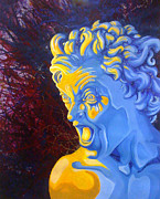 Greek Sculpture Originals - The Angry Athenian by Sierra Dickey