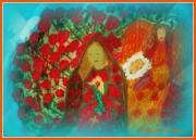 The Annunciation Print by Maryann  DAmico