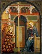Famous Artists - The Annunciation by Masolino da Panicale