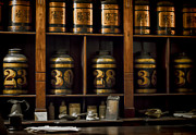 Grocery Stores Prints - The Apothecary Print by Heather Applegate