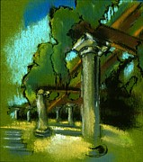 Napa Pastels - The Arbor by Danyl Cook