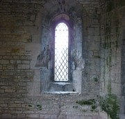 Medieval Temple Art - The Arched Window by Kaye Miller-Dewing