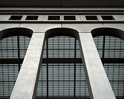 Yankee Stadium Photographs Prints - The Arches of Yankee Stadium Print by Ian Johns
