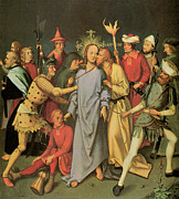 Arrest Painting Posters - The Arrest of Christ Poster by Hans Holbein the Elder