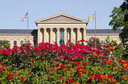 Art Museum Digital Art Metal Prints - The Art Museum in Summer Metal Print by Bill Cannon