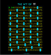 3.14 Digital Art Posters - The Art Of PI Poster by Louis Boston II