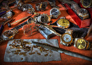 Watchmaker Photos - The art of the timepiece - watchmaker  by Lee Dos Santos