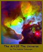 Outer Space Metal Prints - The Art Of The Universe 266 Metal Print by The Hubble Telescope