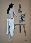 Apron Originals - The Artist by Joe Dragt