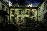 Vintage Wall Framed Prints - The Asylum Project - Last House On The Left Framed Print by Erik Brede