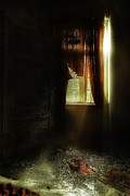 Dirty Window Prints - The Asylum Project - Let There Be More Light Print by Erik Brede