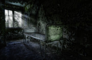 Horror House Prints - The Asylum Project - Seven Print by Erik Brede