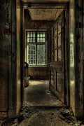 Texture Metal Prints - The Asylum Project - Welcome Metal Print by Erik Brede