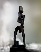 Steel Sculptures - The Athenian by Kim Gauge