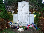 Babe Ruth Photos - The Babes Resting Place by Ed Weidman