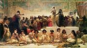 The Babylonian Marriage Market, 1875 Print by Edwin Longsden Long