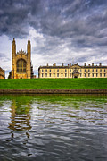 Backs Prints - The Backs - Kings College - Cambridge Print by Mark E Tisdale