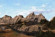 Rachel Stribbling - The Badlands in South...